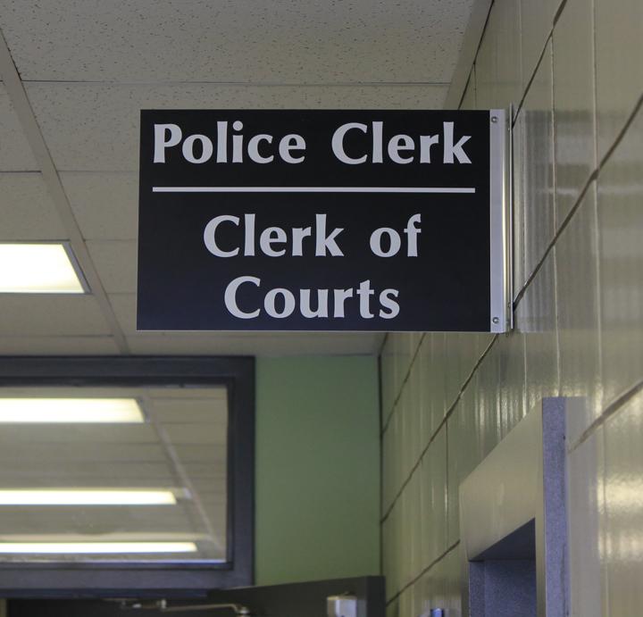police-clerk-sign